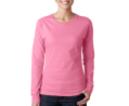 Gildan Softstyle Ladies Long Sleeve T-Shirt-Colors
