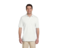 JERZEES 50/50 Polo Shirt with SpotShield® - White