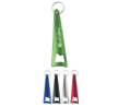 Aluminum Tepee Bottle Opener Key Ring