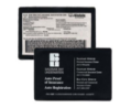 Insurance Card with Pocket