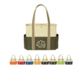 Tri Color Tote Bag