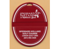 Oval Custom Printed Bag Tags