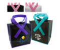 Domestic Ribbon Grocery Shopper Bag