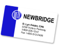 Custom Business Card Magnets - 2 Color