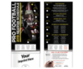 Pro Football 2014 Season Schedule Pocket Slider