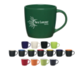 12 Oz Colored Café Mug