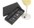 The Festival Wine Glass Charm Set