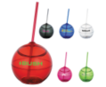 Fiesta 20 oz Ball with Straw