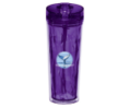 Hot and Cold Flip n Sip Geometric Tumbler 18oz