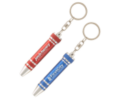 Mini Multi bit Screwdriver Keyring