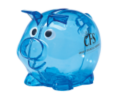 Mini Plastic Piggy Bank