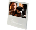 Brushed Aluminum Photo Frame