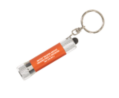 LED Flashlight Key Chain in Matte