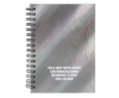 Holographic Hard Cover Spiral Notepad