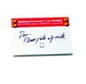 Bic® Sticky Note 50 Sheet Pads - Smiley